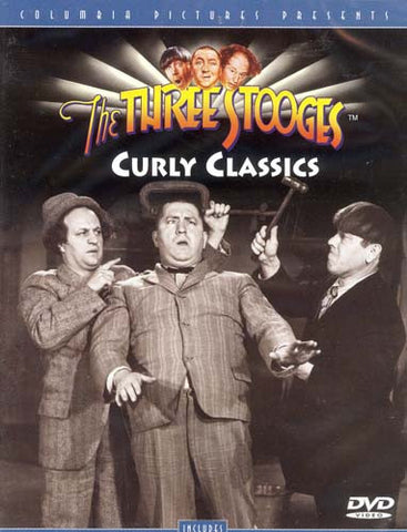 The Three Stooges - Curly Classics DVD Movie
