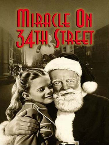 Miracle On 34th Street (BW) DVD Movie