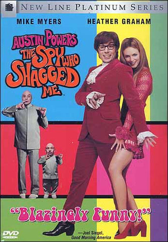 Austin Powers - The Spy Who Shagged Me (ALL) DVD Movie