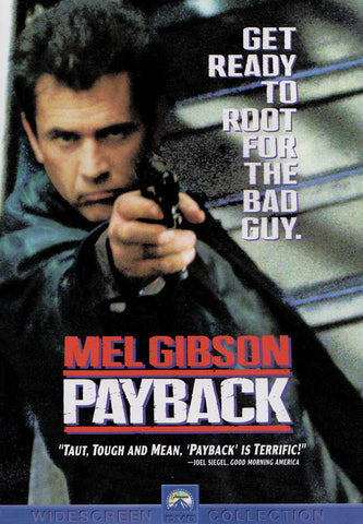 Payback (Mel Gibson) DVD Movie