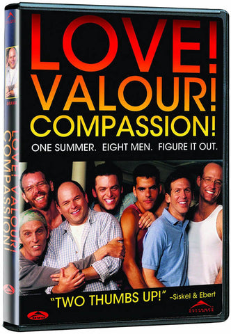 Love! Valour! Compassion! DVD Movie