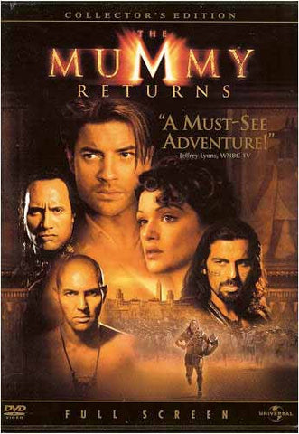 The Mummy Returns (Collector's Edition) (Fullscreen) DVD Movie