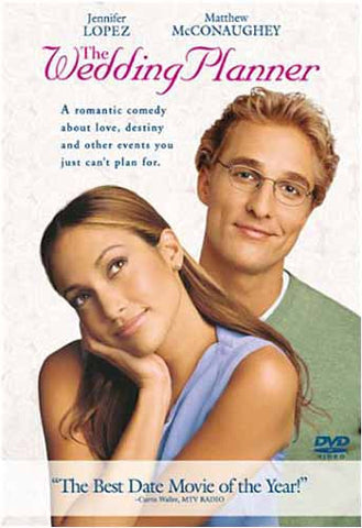 The Wedding Planner DVD Movie