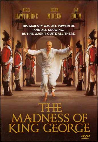 The Madness Of King George (Ian Holm) DVD Movie