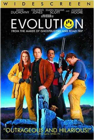 Evolution DVD Movie