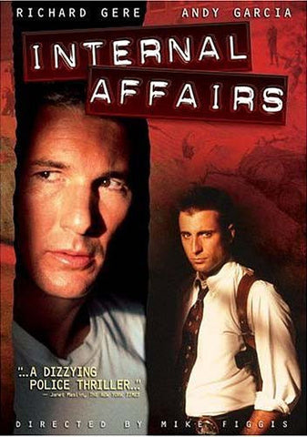Internal Affairs DVD Movie