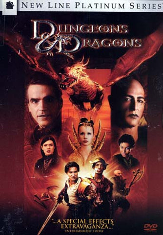 Dungeons and Dragons - New Line Platinum Series (Keepcase) DVD Movie
