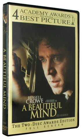 A Beautiful Mind (Full Screen Awards Edition) (Bilingual) DVD Movie