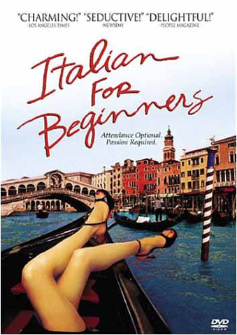 Italian for Beginners DVD Movie
