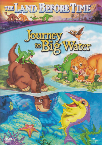 The Land Before Time - Journey To Big Water (White Spine) DVD Movie