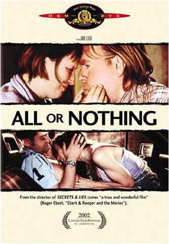 All or Nothing DVD Movie