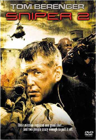 Sniper 2 DVD Movie