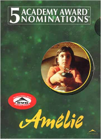 Amelie (Green Cover) (Big Face Cover) DVD Movie