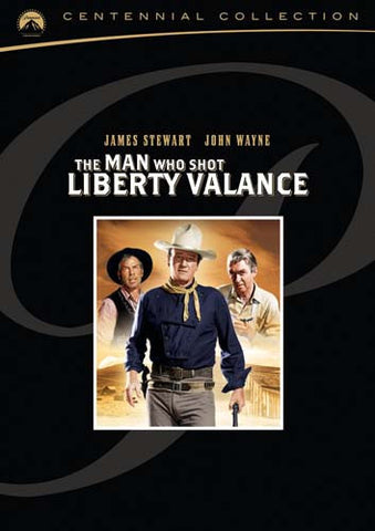 The Man Who Shot Liberty Valance DVD Movie