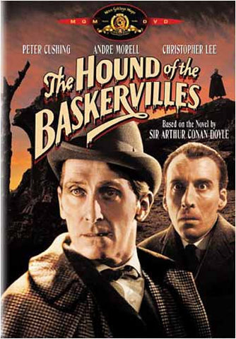 The Hound Of The Baskervilles (Christopher Lee) (Black) DVD Movie