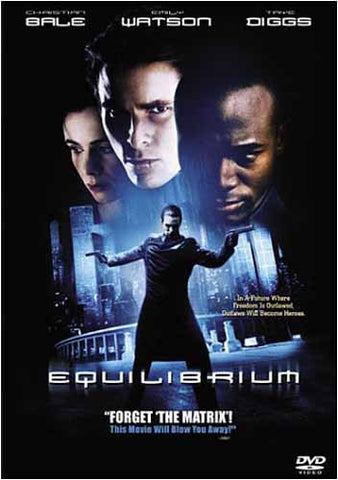 Equilibrium DVD Movie