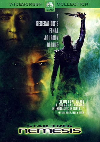 Star Trek: Nemesis (Widescreen Edition) DVD Movie