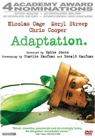 Adaptation DVD Movie