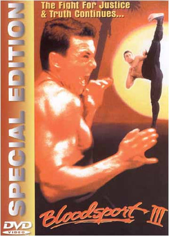 Bloodsport III - Special Edition DVD Movie