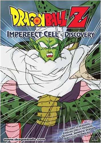 Dragon Ball Z - Imperfect Cell - Discovery DVD Movie