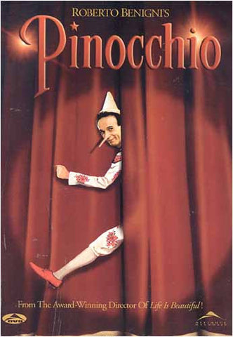 Pinocchio (Roberto Benigni)(bilingual) DVD Movie