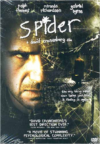 Spider (Bilingual) DVD Movie