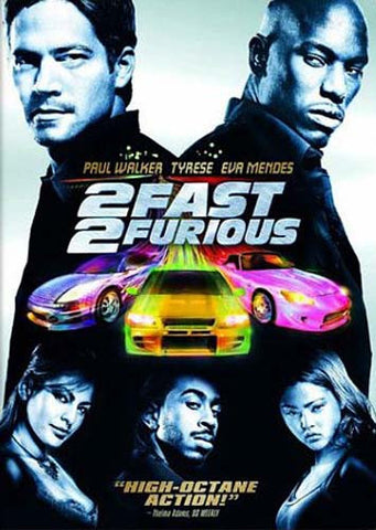2 Fast 2 Furious (Widescreen) DVD Movie