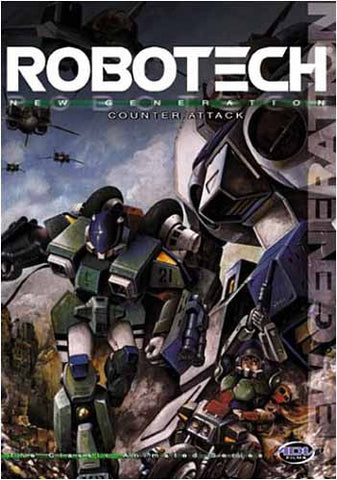 Robotech - Volume 12: Counter Strike (Japanimation) DVD Movie