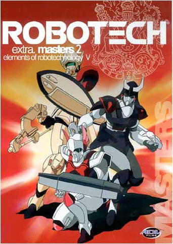Robotech E5: Masters 2 - Elements Of Robotechnology V (Japanimantion) DVD Movie