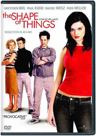 The Shape of Things DVD Movie
