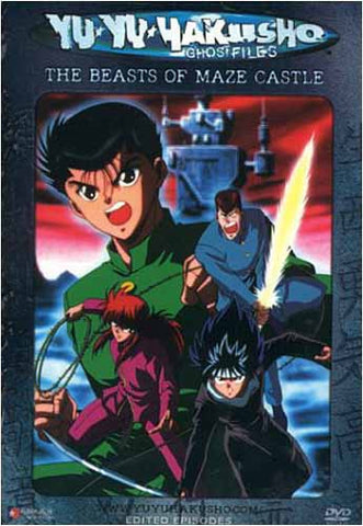 Yu Yu Hakusho Ghost files - Volume 7: The Beasts of Maze Castle (Edited Version)(Japanimation) DVD Movie