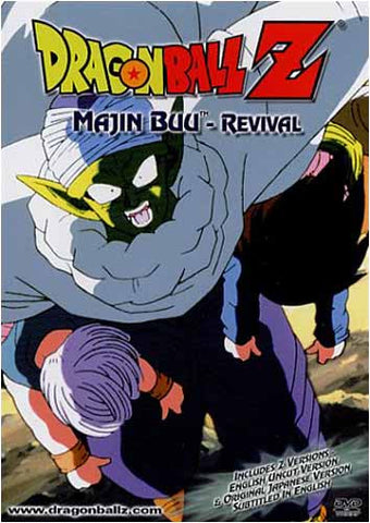 Dragon Ball Z - Majin Buu - Revival DVD Movie