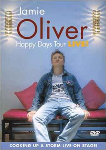 Jamie Oliver - Happy Days Tour LIVE ! DVD Movie