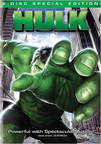 Hulk (2-Disc Special Edition) (Full Screen) DVD Movie