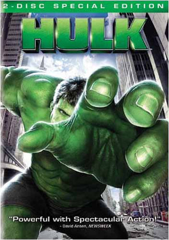 Hulk (2-Disk Special Edition) (Widescreen) (Bilingual) DVD Movie