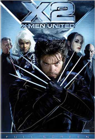 X2 - X-Men United (Full Screen Edition) DVD Movie