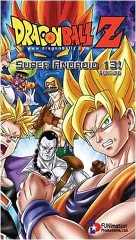 Dragon Ball Z - Super Android 13! (Uncut Version) DVD Movie