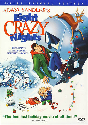 Eight Crazy Nights (Two Disc Special Edition) (White Cover) DVD Movie