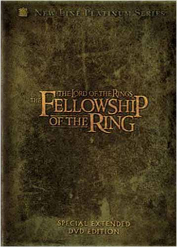 The Lord of the Rings - The Fellowship of the Ring (Platinum Special Extended Edition) (Boxset) DVD Movie