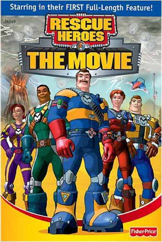 Rescue Heroes - The Movie DVD Movie