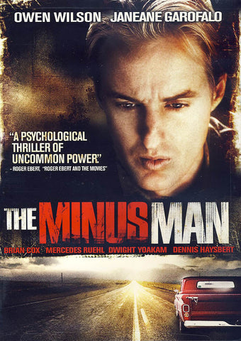 The Minus Man DVD Movie
