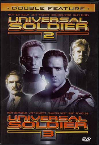 Universal Soldier 2 / Universal Soldier 3 (Double Feature) DVD Movie