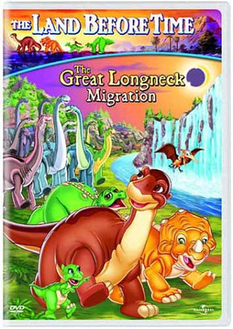 The Land Before Time - The Great Longneck Migration (Vol. 10)(Bilingual) DVD Movie