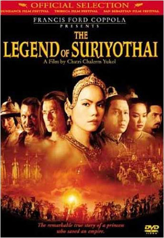 The Legend of Suriyothai DVD Movie