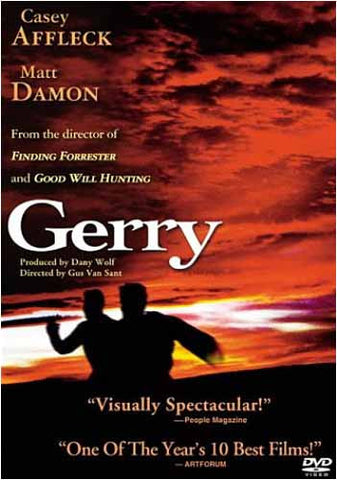 Gerry DVD Movie