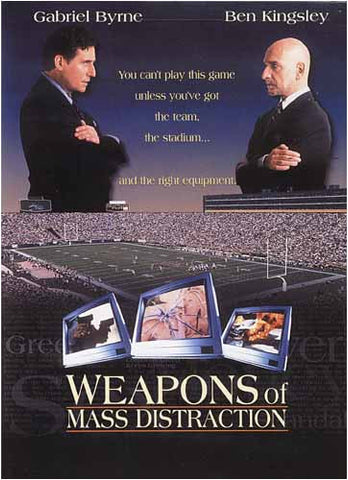 Weapons of Mass Distraction DVD Movie