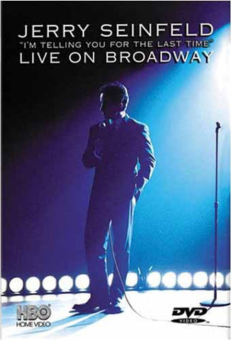Jerry Seinfeld Live on Broadway - I'm Telling You For the Last Time DVD Movie