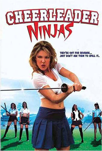Cheerleader Ninjas DVD Movie