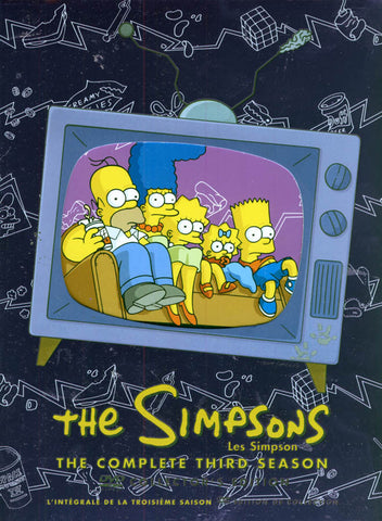 The Simpsons / Les Simpson - The Complete Third Season (Collector s Edition) (Bilingual)(Boxset) DVD Movie