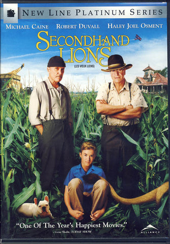 Secondhand Lions (Bilingual) DVD Movie